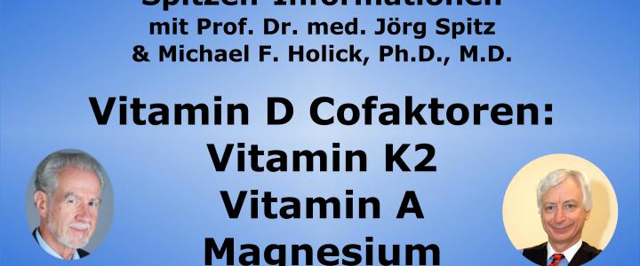 Vitamin D-Cofaktoren: Vitamin K2, Vitamin A & Magnesium