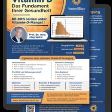 NEU – Die Vitamin D-Infoblätter sind da